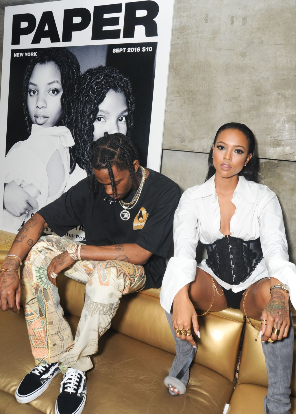 Travis Scott, Karrueche Tran