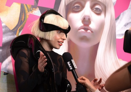 Lady Gaga at the world premiere of her third album ArtPop on November 10 in New York City.  Photo Credit: AP Images