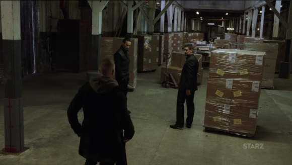 Milan takes Tommy to the warehouse Power Season 3, Episode 308
