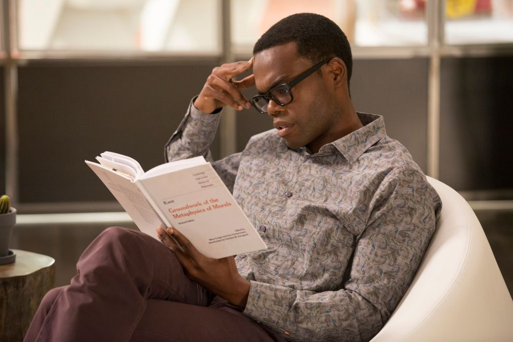 """THE GOOD PLACE -- """"Pilot"""" -- Pictured: William Jackson Harper as Chidi -- (Photo by: Justin Lubin/NBC)"""