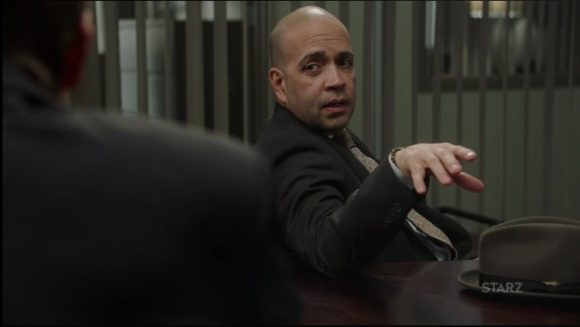 Ruiz is not here for Greg and Saxe's offer Power Season 3, Episode 308