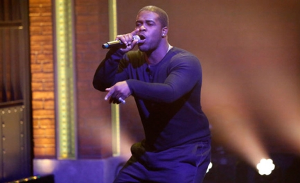 "A$AP Ferg performs ""New Level"" on 'Late Night with Seth Meyers' on June 22, 2016,"