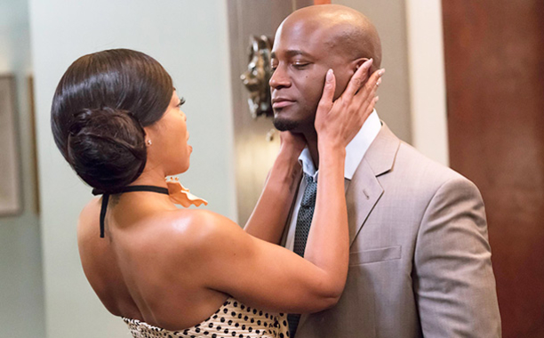 """EMPIRE: Pictured L-R: Taraji P. Henson and guest star Taye Diggs in the """"What We May Be"""" episode of EMPIRE airing Wednesday, Nov. 16 (9:00-10:00 PM ET/PT) on FOX. ©2016 Fox Broadcasting Co. CR: Chuck Hodes/FOX"""