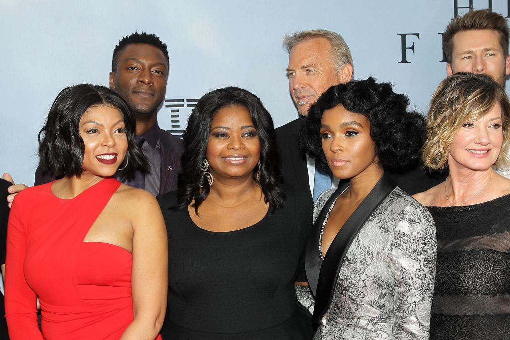 - New York, NY - 12/10/16 - 20th Century Fox Celebrates 'HIDDEN FIGURES' with Special New York Screening Brought to you by IBM. -Pictured: Cast -Photo by: Marion Curtis/Starpix -Location: SVA Theater