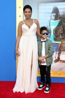 Jennifer Hudson and her son David Daniel Otunga Jr.