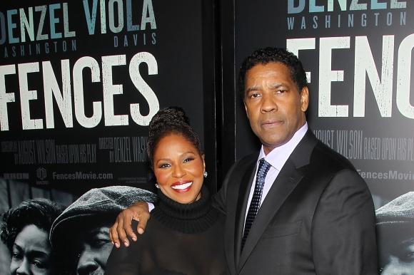 Pauletta Washington, Denzel Washington.