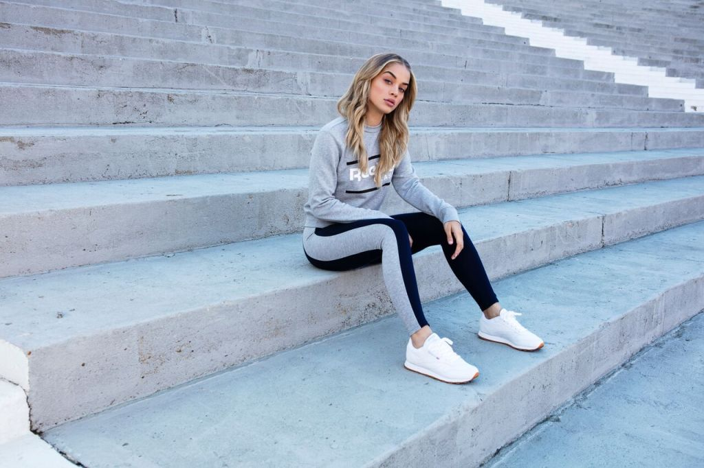 ... Reebok s Women s Classic campaign and collection with Lady Foot Locker.  Known widely for her bold and effortless merger of fitness and fashion df60f4c42