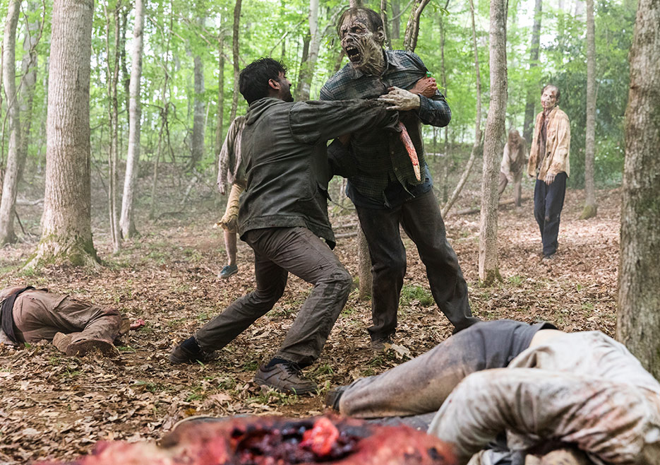 Th e Walking Dead Recap