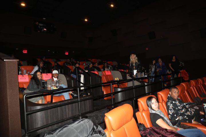 La La and Screening Guests